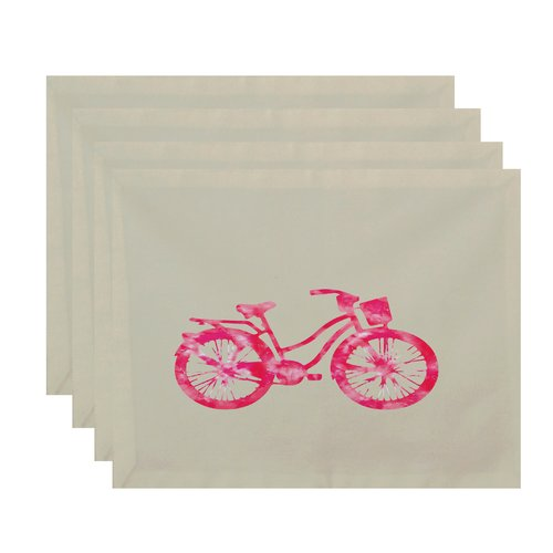 Bay Isle Home Golden Beach Life Cycle Geometric Placemat (Set of 4)
