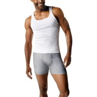 Deals on 7-Pack Hanes Mens Fresh IQ White Tagless Tank