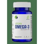 Vegan Omega 3s + 6 - Algae Based, Fish Oil Alternative - Support Heart, Eye, Brain, Mental, Immune, Metabolic Health - 30 Day Supply