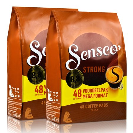 2 x douwe egberts senseo strong 48 pods pads. Black Bedroom Furniture Sets. Home Design Ideas