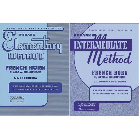 Rubank Elementary Method and Rubank Intermediate Method - French Horn, 2 Book Set, RBK FHORN (Elementary Set)