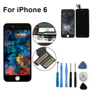 """Screen Replacement for iPhone 6 4.7"""" LCD Touch Display Digitizer Assembly Set Included Repair Tools"""