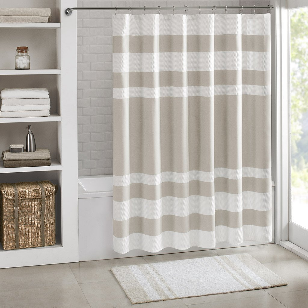 Spa Cotton Reversible Bath Rug Taupe 24x72\