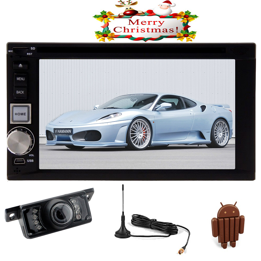 3D Navigation GPS Android 5.1 Lollipop Car DVD Player 2 Din Multimedia System Vehicle Stereo Audio Radio... by EinCar