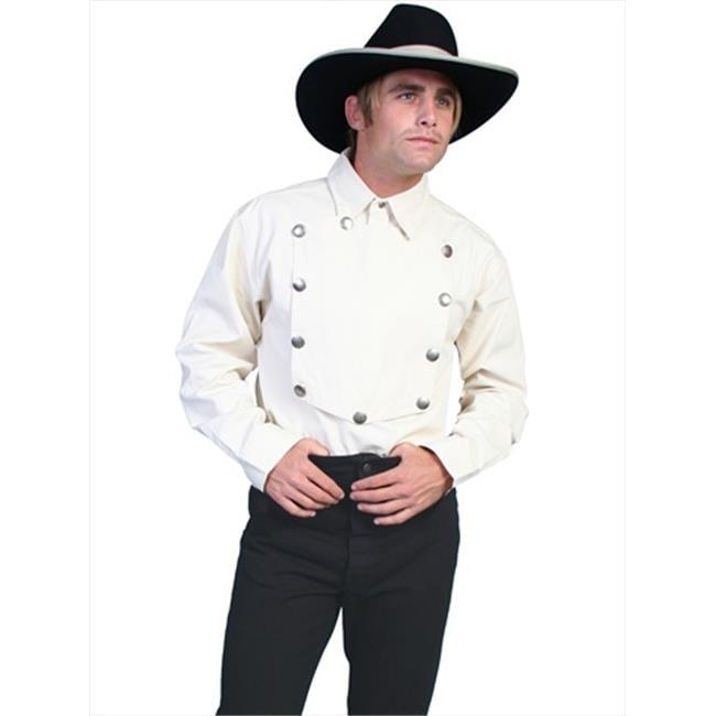 Scully RW011-NAT-L Men Rangewear Shirt - Natural, Large - image 1 de 1
