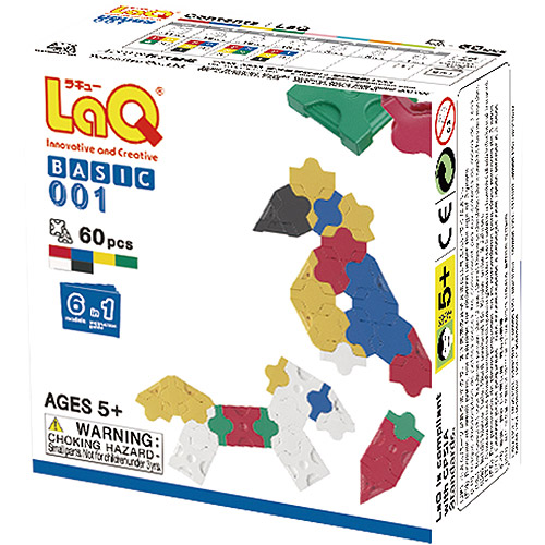 LaQ Basic Series - Basic 001 Plane LAQ000378 by LaQ Blocks