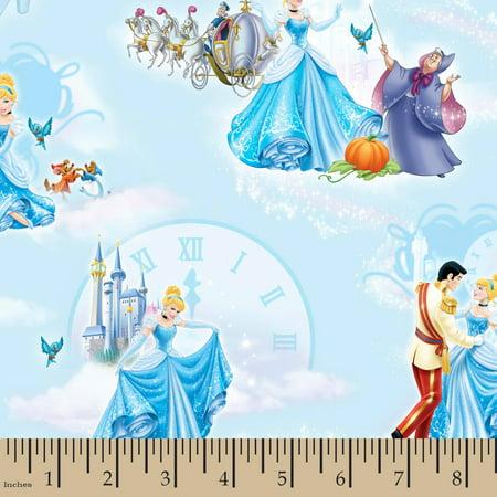 Disney Cinderella At The Ball, Blue, 43/44