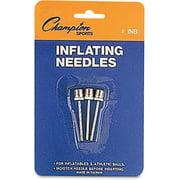 Champion Sports, CSIINB, Pump Inflating Needles, 1, Silver