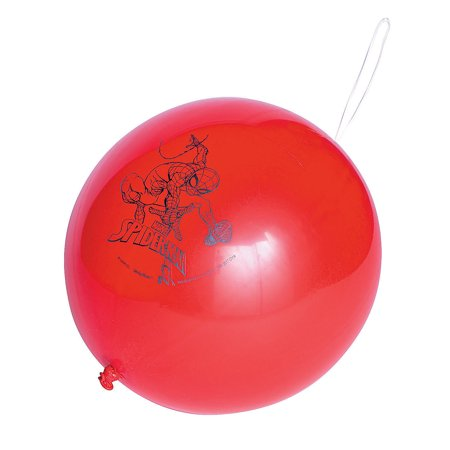 Fun Express - Ultimate SpideR-Man Punch Balloon for Birthday - Party Supplies - Licensed Tableware - Misc Licensed Tableware - Birthday - 1 Piece](The Ultimate Party Store)