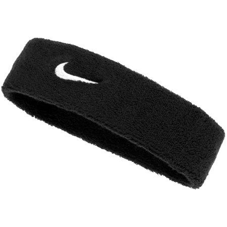 Nike Swoosh Headband - Black/White - No Size