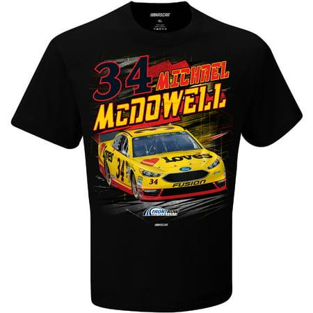Michael McDowell Checkered Flag Love's Torque T-Shirt - Black (Checkered Flag Dress)