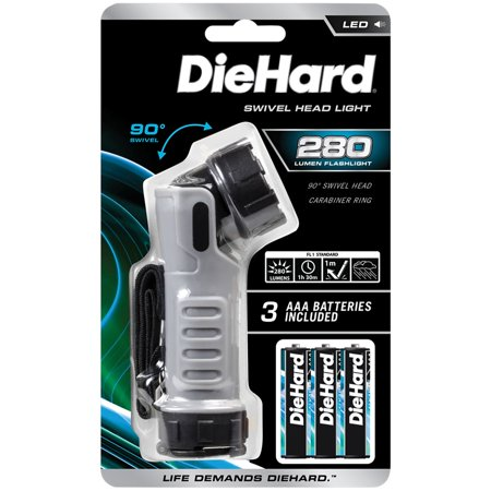 (DieHard 41-6392 280-Lumen Swivel Head Flashlight)