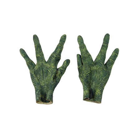 Creepy Alien Hands Four Finger Latex Gloves Scary Halloween Costume Accessory (Best Halloween Scary Pranks)