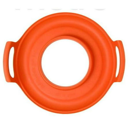 NewMeto Design LLC CG-O CoolGrip Microwave Caddy - Orange