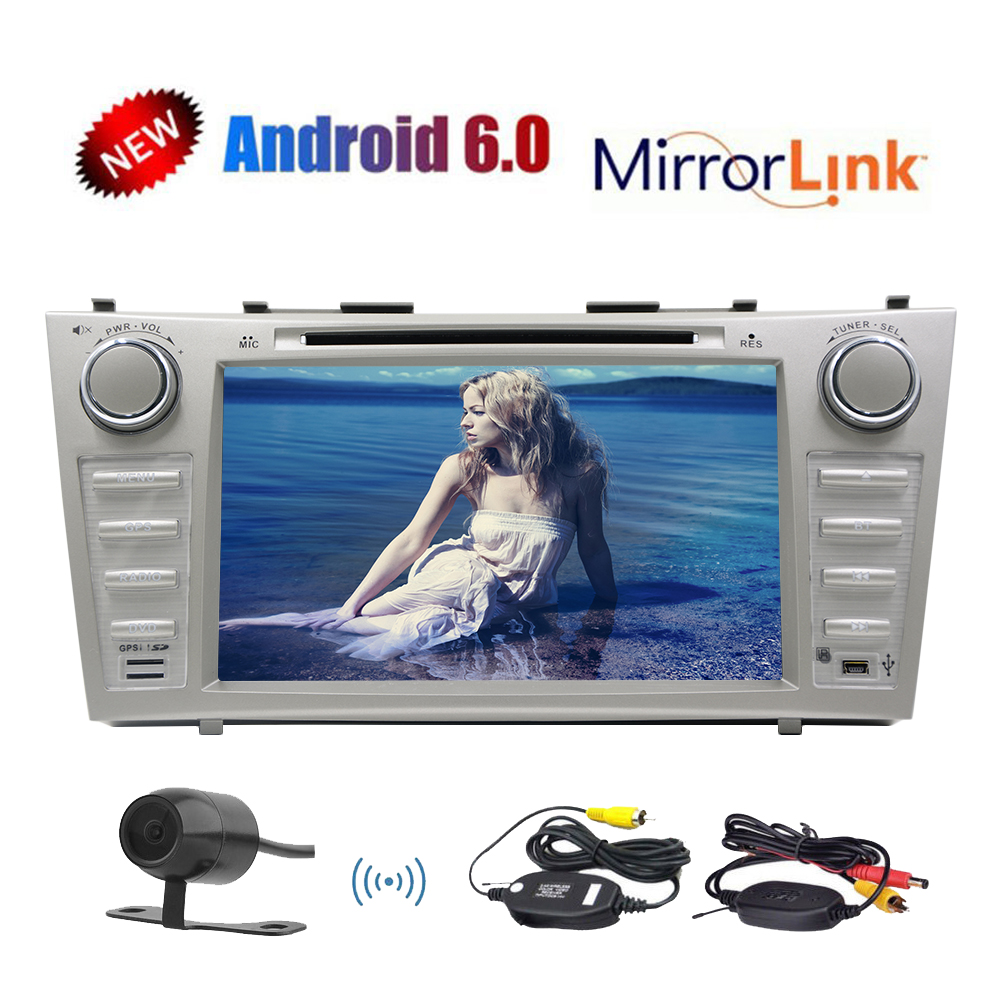 Einca Android 6.0 System In Dash Double Head Unit GPS Car Stereo Special FOR Toyota Camry (2007-2012) Car DVD... by EinCar