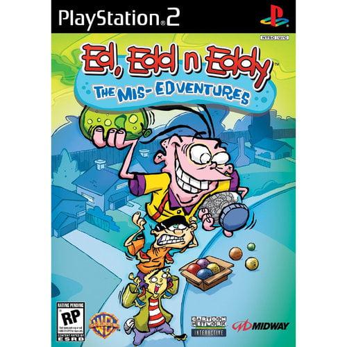 Ed, Edd 'n Eddy The Mis-Edventures - PlayStation 2