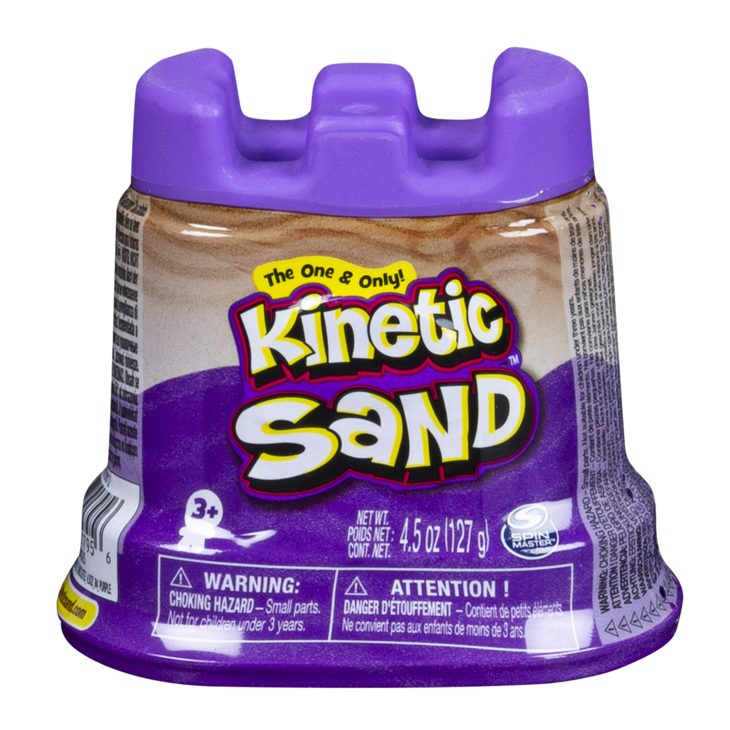 Kinetic Sand - Single Container - 4.5 oz - Purple