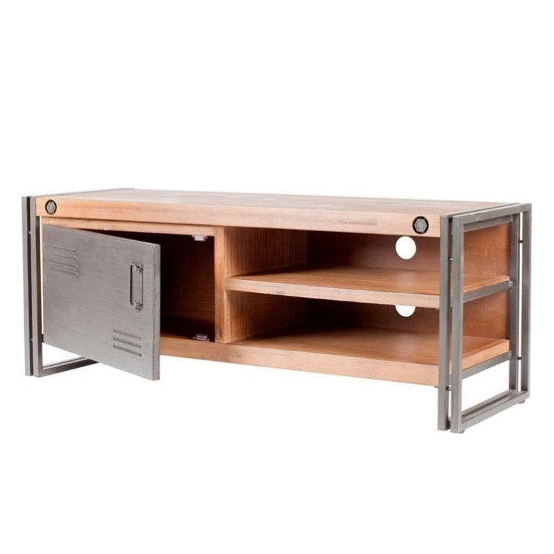 Moe's Brooklyn Small TV Table in Dark Brown by Moe's Home Collection