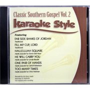 Classic Southern Gospel Volume 2 Christian Karaoke Style NEW CDG Daywind 6 Songs