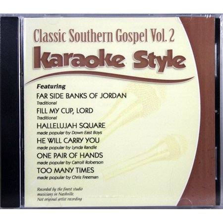 Classic Southern Gospel Volume 2 Christian Karaoke Style NEW CDG Daywind 6 Songs