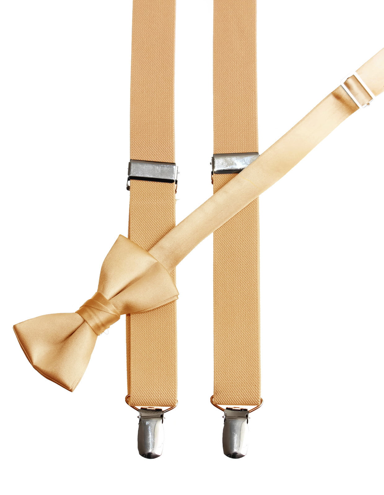 Ship from US Kids Boys Girls  Flag Clip-on Suspender and Bow Tie Sets