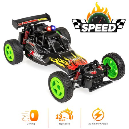 Best Choice Products 1/16 Scale 2.4GHz 4WD High Speed RC Drifting Stunt Racing Car, 13MPH Max w/ Rechargeable