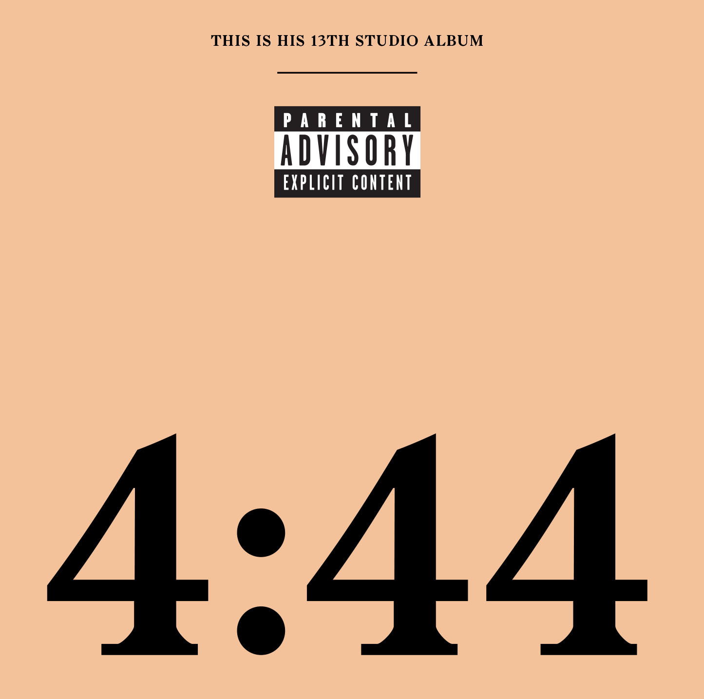 Jay-Z - 4:44 (Explicit) (CD)