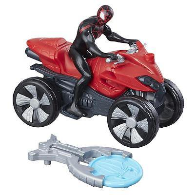 Marvel Spider-Man Blast N' Go Racer Kid Arachnid with ATV (Marvels Kids)