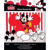 Mickey Mouse Photo Booth Kit, 7pc