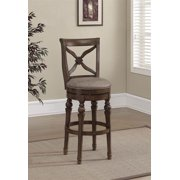 Livingston Bar Stool in Sienna (Counter Stool - 18 in. W x 19.5 in. D x 41 in. H)