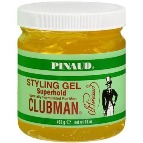 Pinaud Clubman Styling Gel Super Hold 16 oz (Pack of 2)