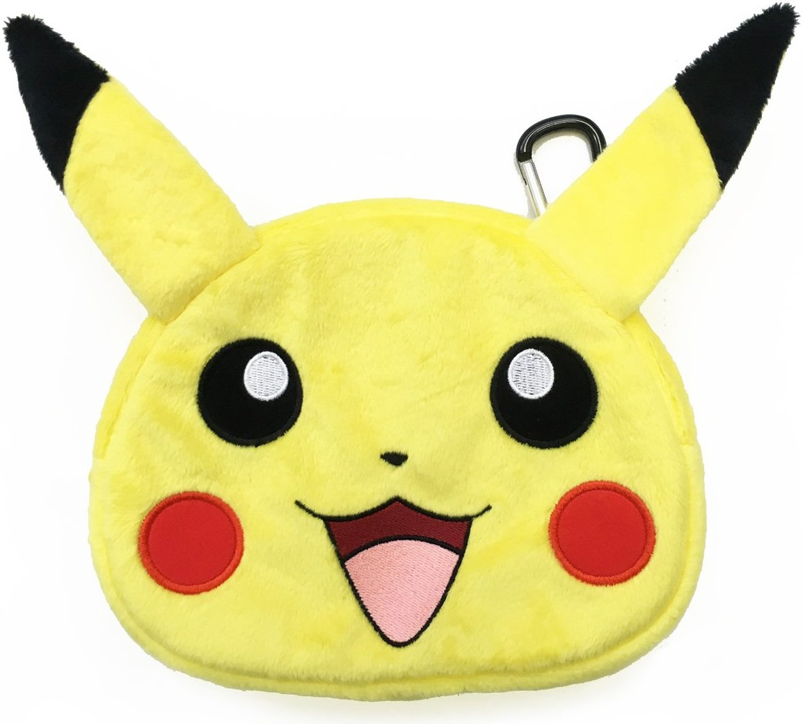 HORI Universal Pikachu Plush Pouch Case for New Nintendo 3DS XL