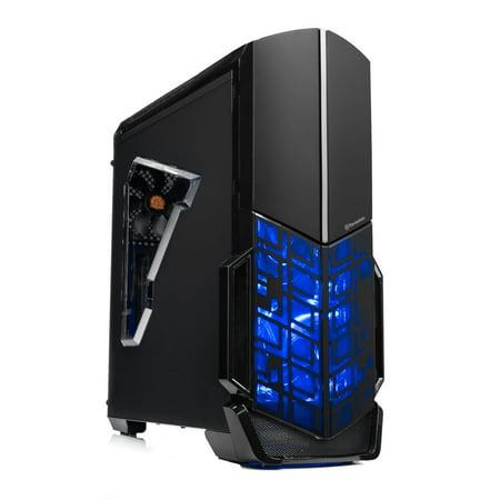 SkyTech Shadow Gaming Desktop AMD Ryzen 5 2600, NVIDIA GeForce GTX 1060 3G, 500GB SSD, 8GB DDR4, 500 Watt 80 Plus Power Supply, Windows 10 Home – VR Ready Gaming