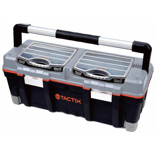 "Tactix 26"" Toolbox with Organizers"