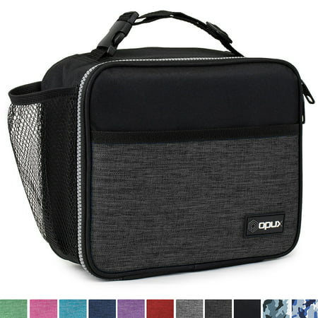 OPUX Premium Thermal Insulated Mini Lunch Bag | Lunch Box For Men Women Adults Teens | Soft Leakproof Liner | Compact Reusable Lunch Pail for Office Work