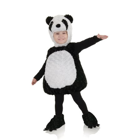Panda Bear Halloween Costume Baby (Toddler Panda Bear Costume by Underwraps Costumes)