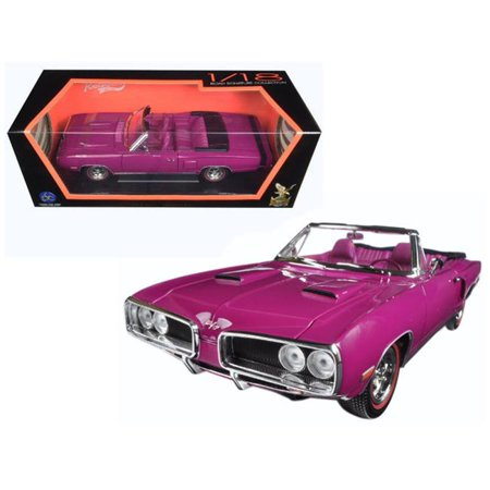 1 by 18 1970 Dodge Coronet Retractable Diecast Model Car,