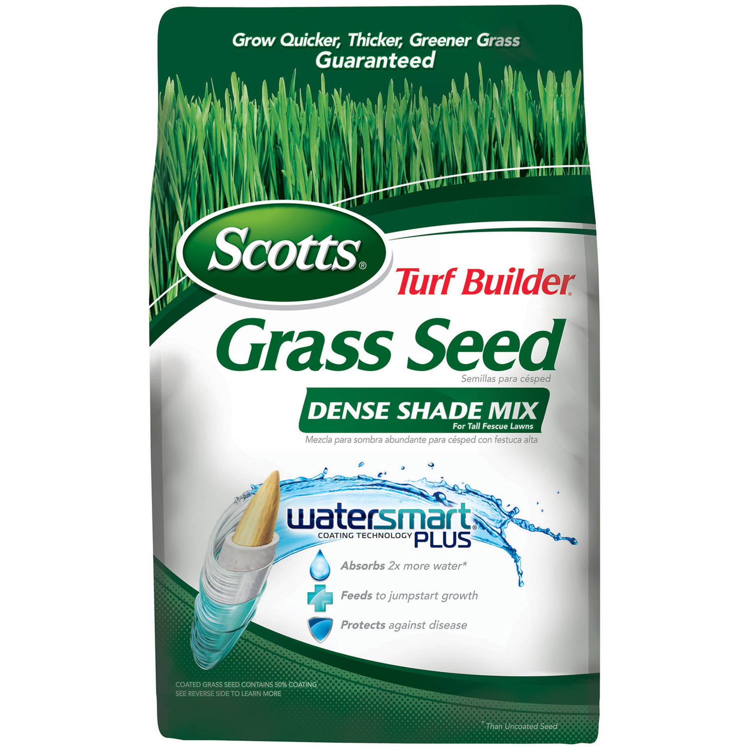 Scotts Turf Builder Dense Shade Mix for Tall Fescue Lawns, 3 lbs