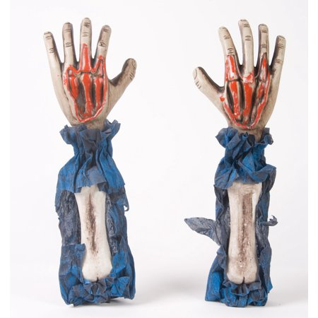 Horror Props Store (Fun World Horror Arms Grave Breakers Decoration Prop, 17in, Blue, 2)