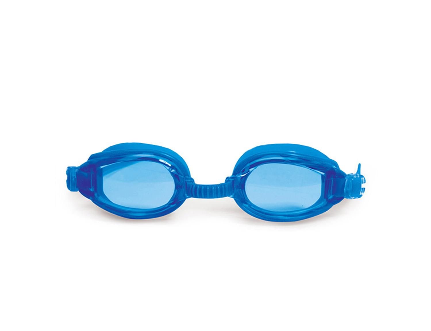 "6.25"" Advantage Blue Goggles Swimming Pool Accessory for Juniors by Swim Central"