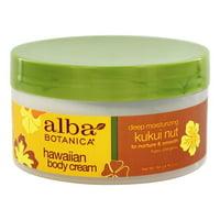 Alba Botanica - Alba Hawaiian Body Cream Kukui Nut - 6.5 oz.