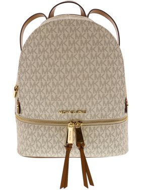 ed23192289a8d Product Image Michael Kors Women s Medium Rhea Leather Backpack - Vanilla