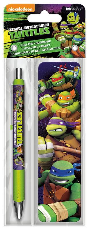 Trends International Gel Pen Bookmark Pack Teenage Mutant Ninja Turtles