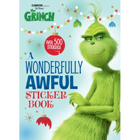 A Wonderfully Awful Sticker Book (Illumination's The Grinch)