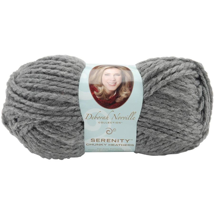 Deborah Norville Collection Serenity Chunky Heathers Yarn