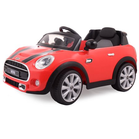 Red Bmw 12V Mini Hatch  Electric Kids Ride On Car Licensed Mp3 Rc Remote Control
