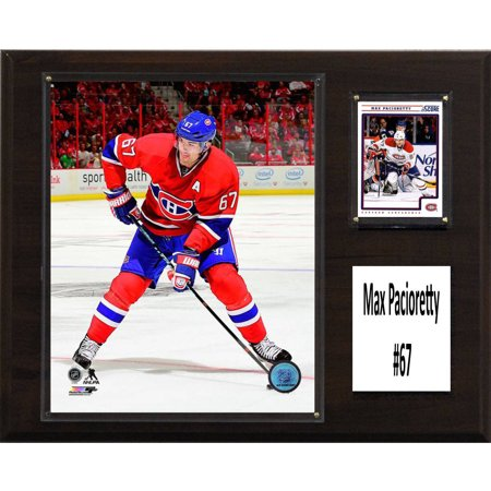 C   I Collectables Nhl 12  X 15  Max Pacioretty Montreal Canadiens Player Plaque