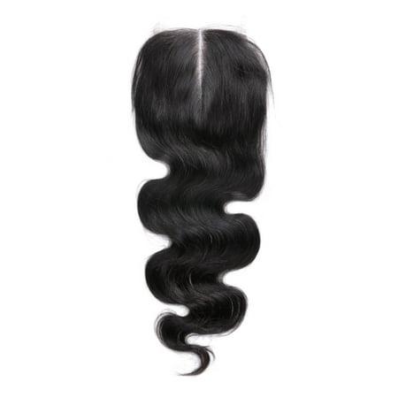 Brazilian Human Hair Body Wave 4x4 Lace Closure 8