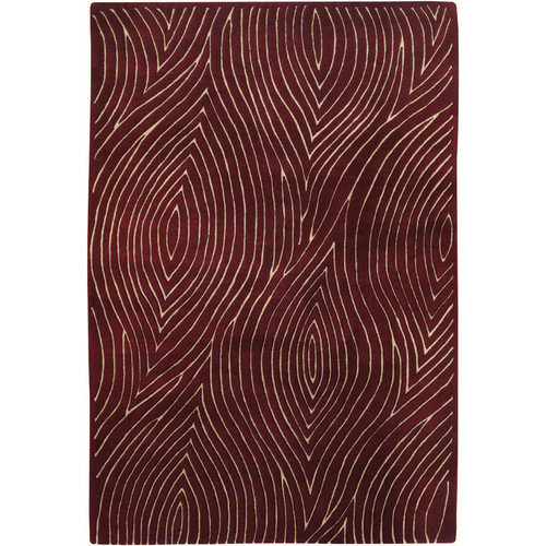 Chandra Rugs Solas Red Area Rug