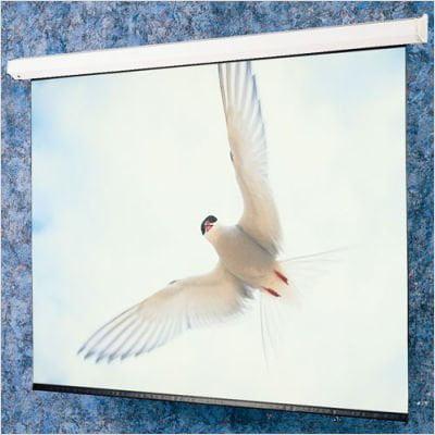 Draper 116286QL High Contrast Grey: Targa Electric Screen With Quiet Motor & Low Voltage Controller - HDTV 82